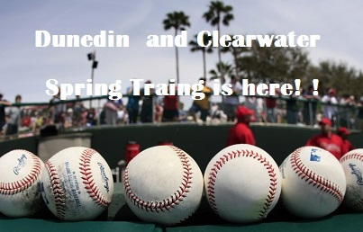 Dunedin-Clearwater Welcome Spring Training