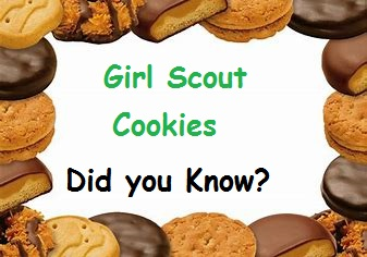 Girl Scout Cookies……..Did You Know?