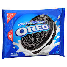 IS THERE ANYTHING BETTER THAN AN OREO COOKIE & A GLASS OF MILK??
